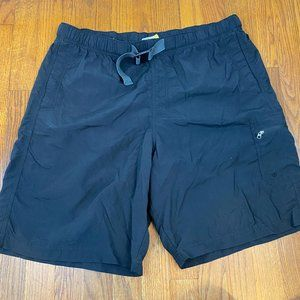 Columbia Men's Swim Trunks Black Omni Shade Size L